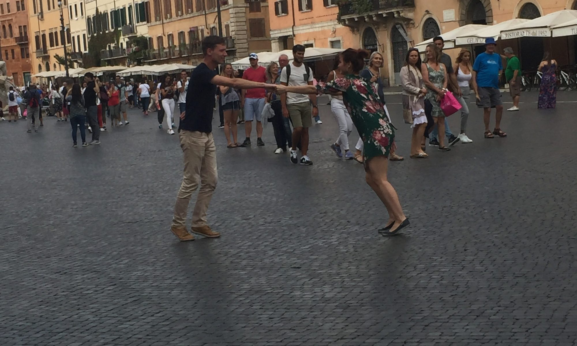 Italian Roman super savvy travelers