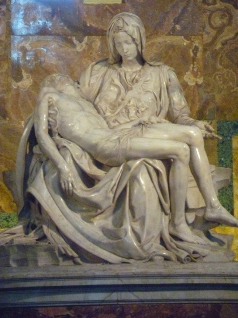 Michelangelo's Pieta, Rome, Italy