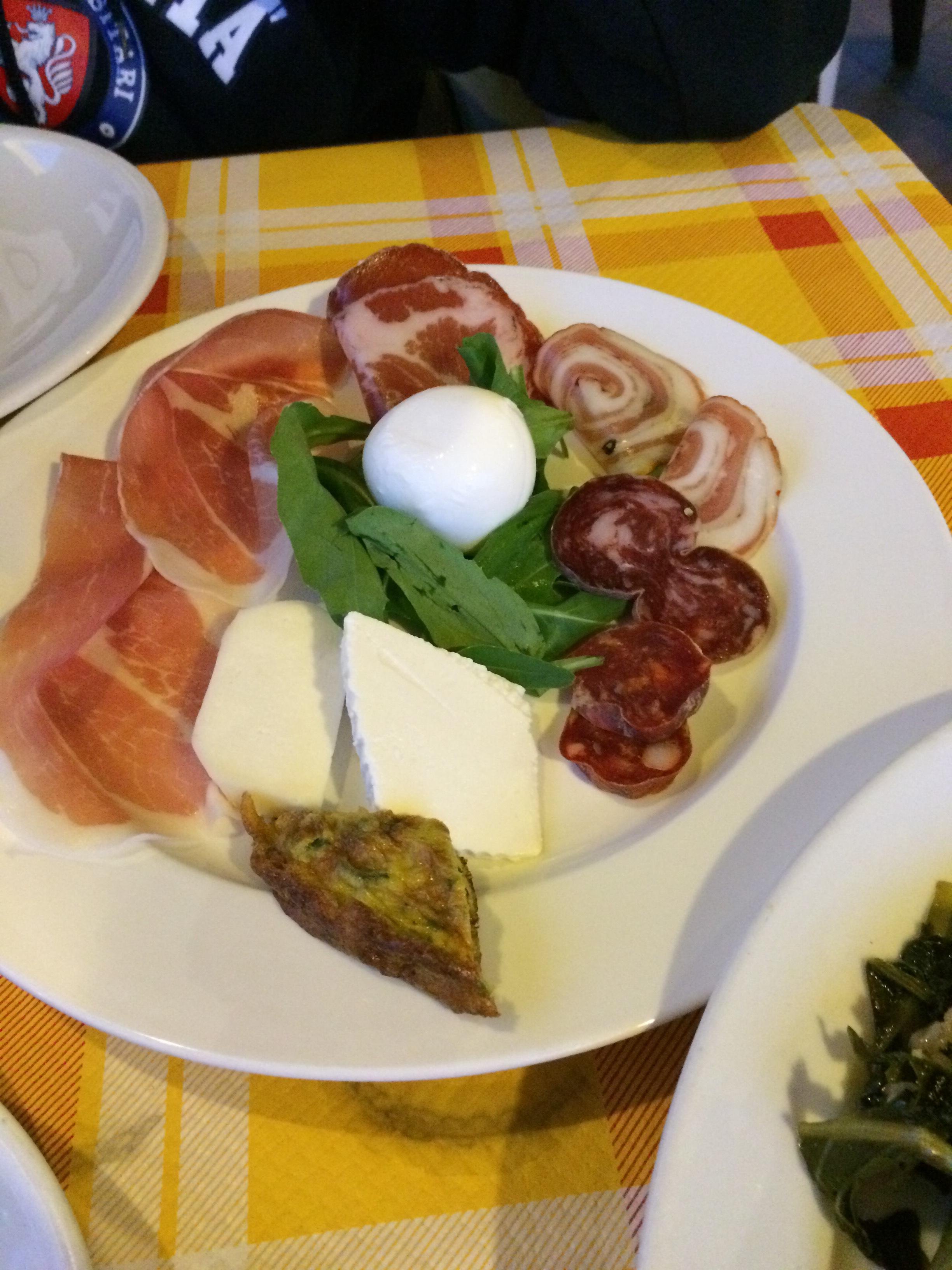 Calabrian Antipasti