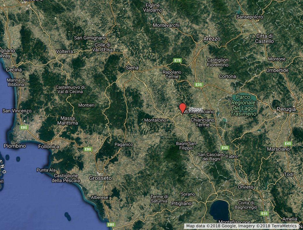Pienza_area_map
