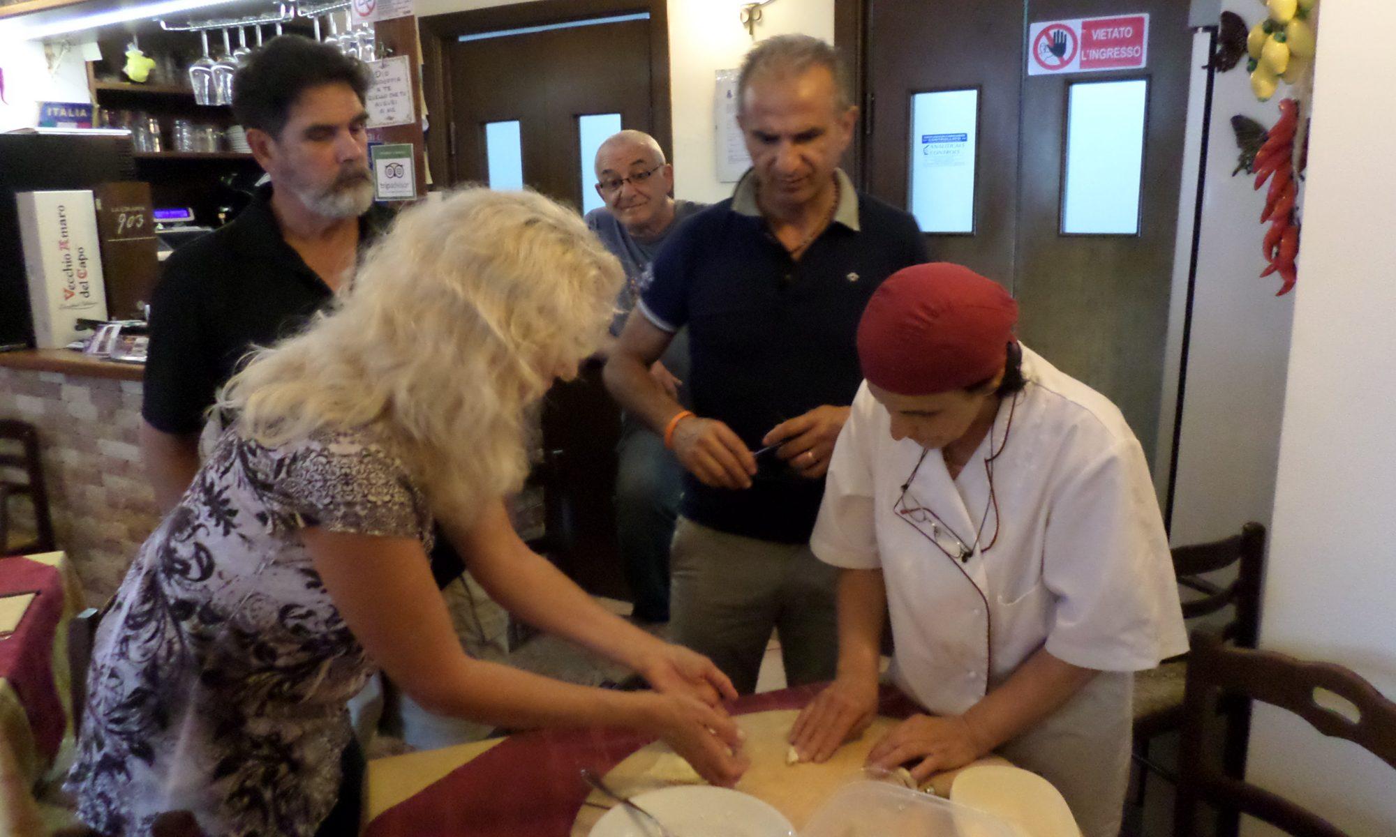Pasta Making Demonstration