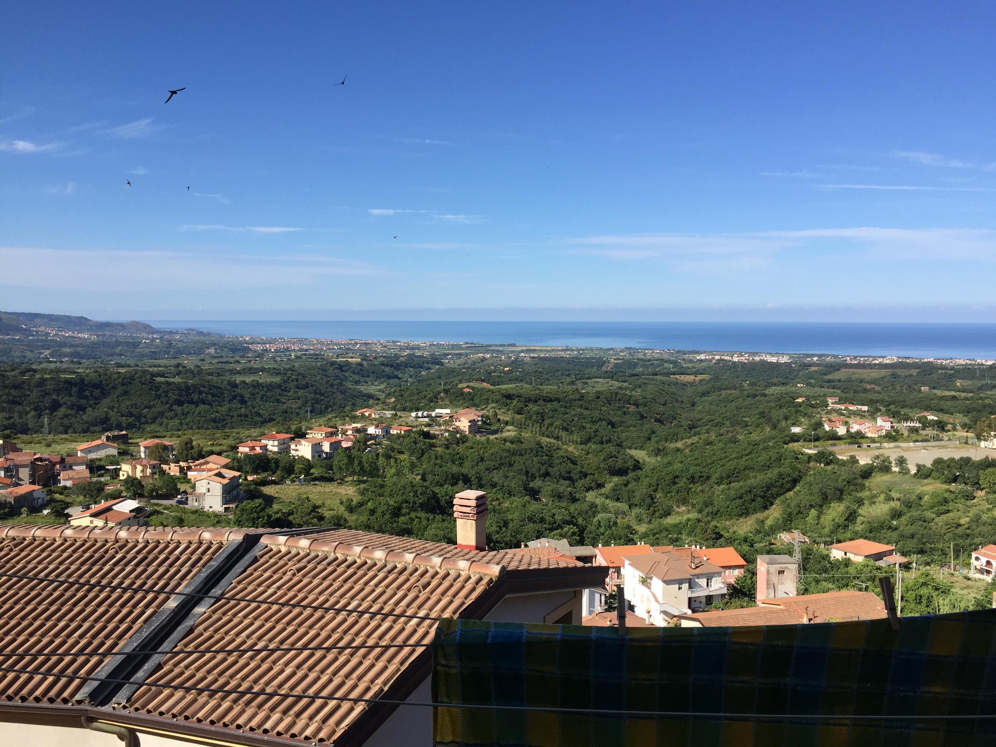 Balcony view Santa Domenica Talao
