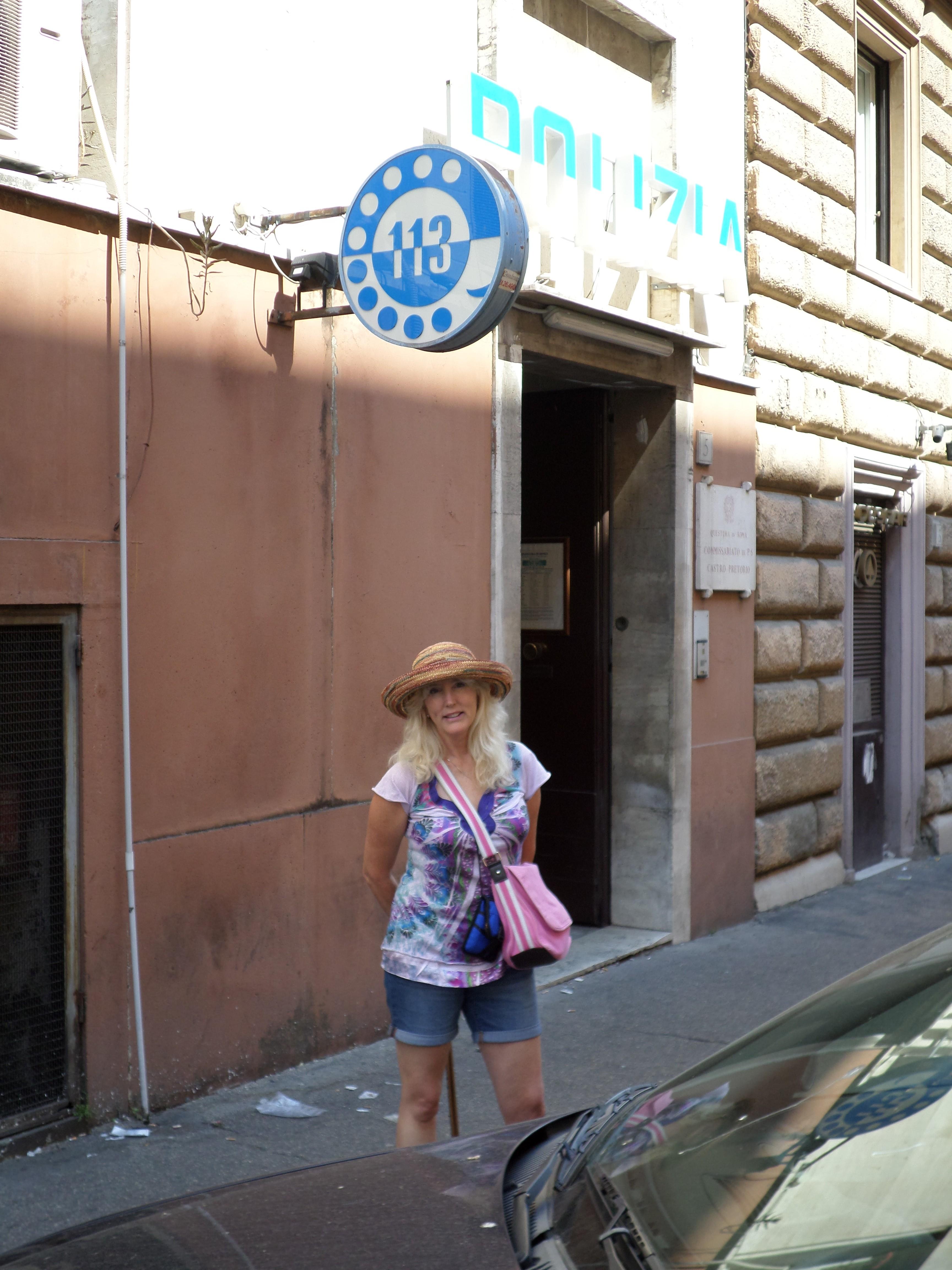 Roman Police Station