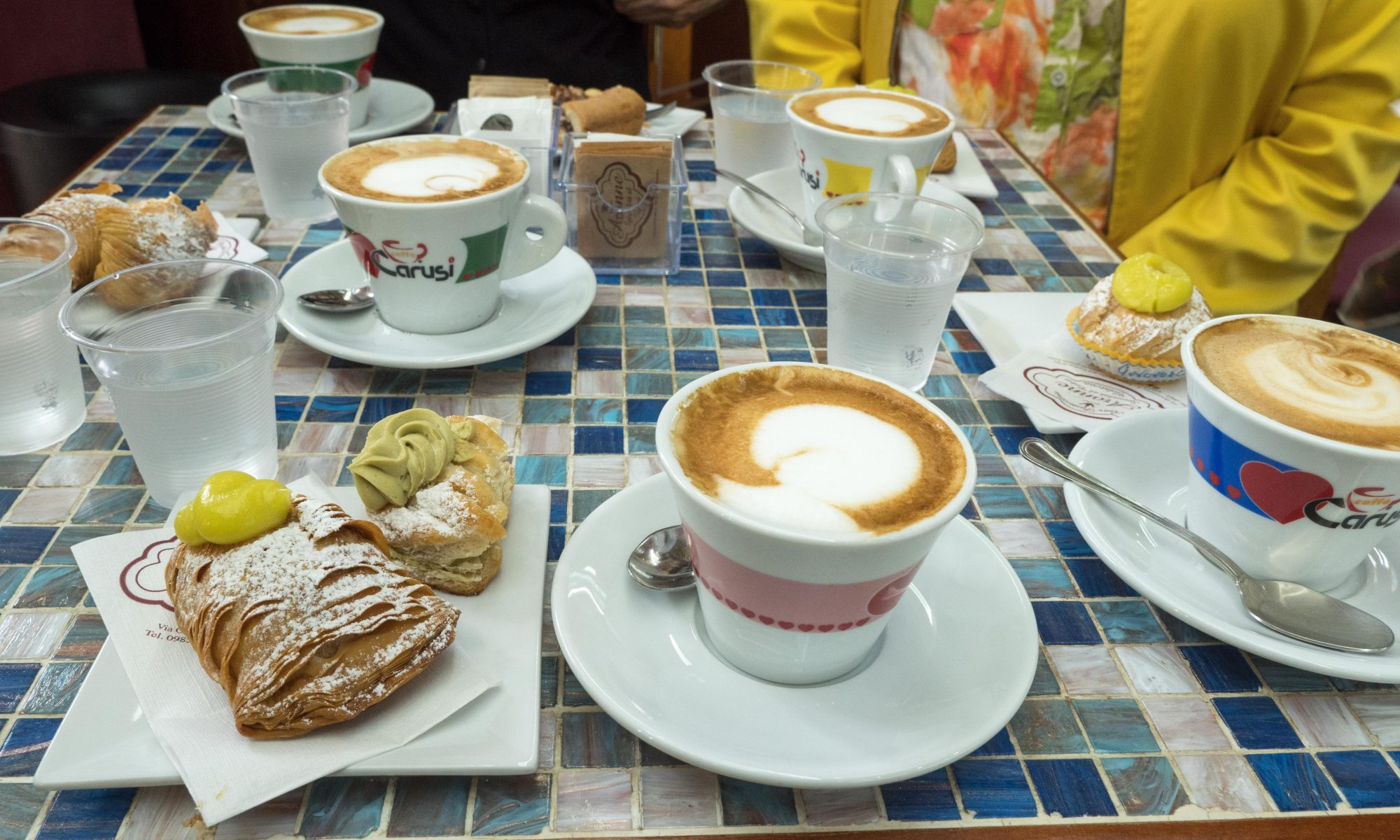 Perfect coffee and cakes