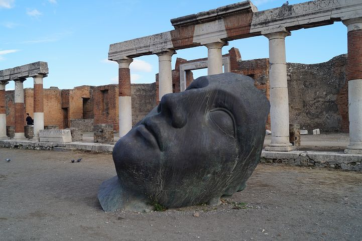 Sculpture at Pompeii