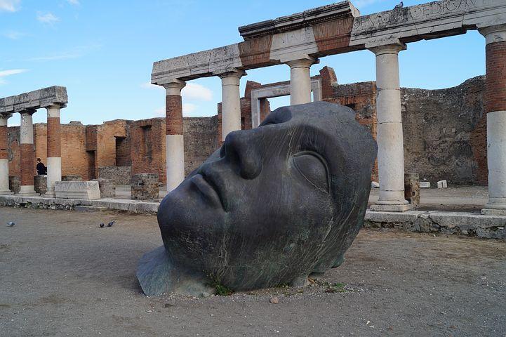 Sculpture at Pompeii