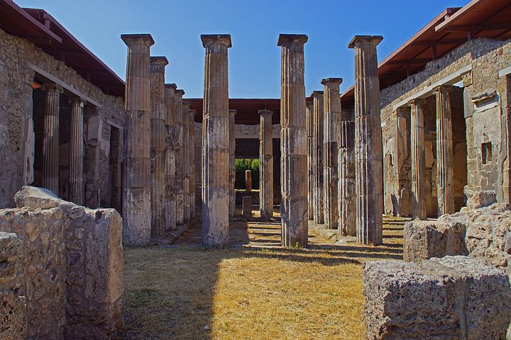 Beautiful House in Pompeii
