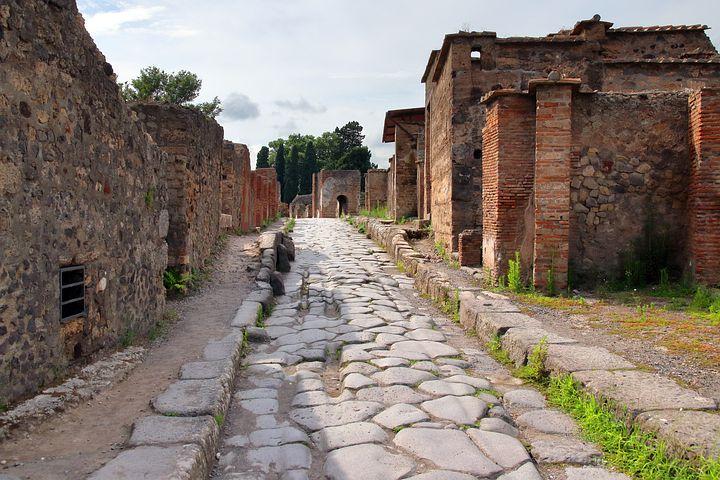 Pompeii residences