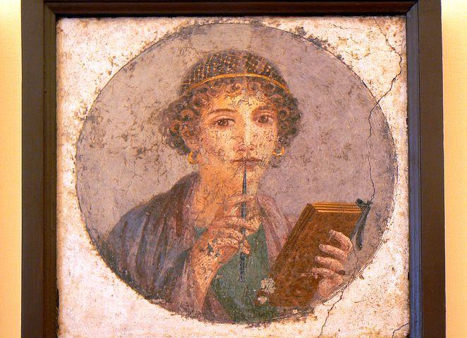 Pompeii girl